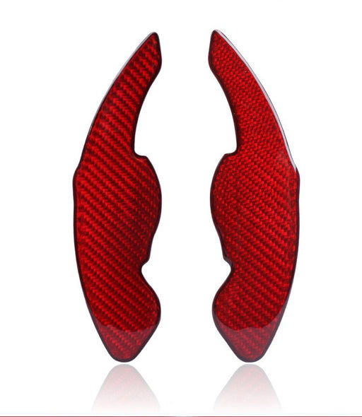 Skoda Octavia / Superb Red Or Black Carbon Fibre Paddle Extensions (Plus Supporting Models) - Diversion Stores Car Parts And Modificaions
