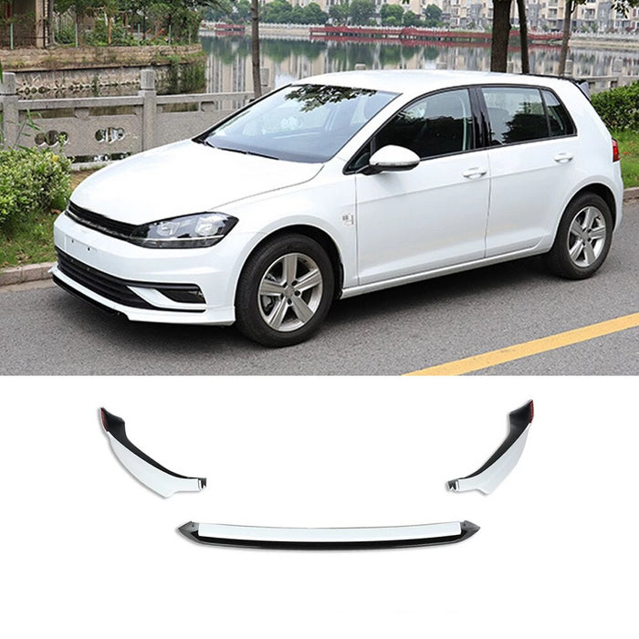 032 - Volkswagen Golf MK 7.5 Standard Model Front Splitter 2018-2019 - Diversion Stores Car Parts And Modificaions