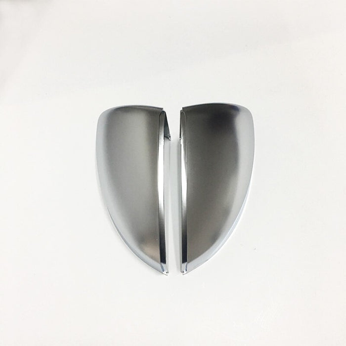 178 - Volkswagen Golf MK7/7.5 Satin Chrome Wing Mirror Covers (Satin Chrome ) - Diversion Stores Car Parts And Modificaions
