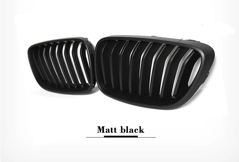 044 - BMW 2 Series Front Carbon Fibre Kidney Grills (2014+ F22 F87 F23) - Diversion Stores Car Parts And Modificaions