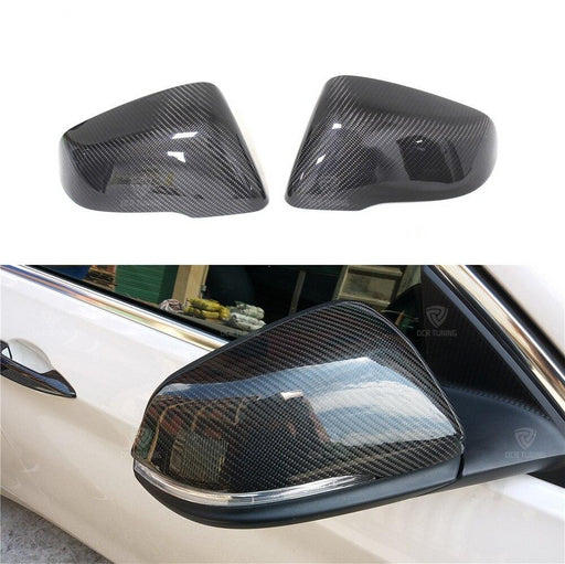 148 - BMW 2 Series Touring Carbon Fibre Replacement Mirror Caps - Diversion Stores Car Parts And Modificaions