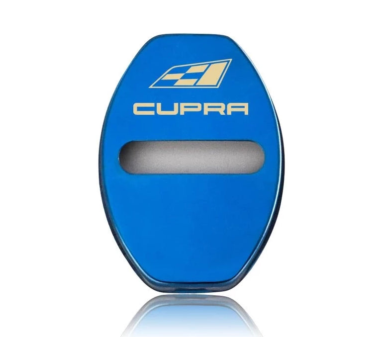 223 - CUPRA 4x Car Door Lock Covers For SEAT - Diversion Stores Car Parts And Modificaions