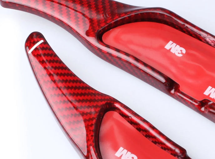 231 - Mercedes Benz Carbon Fibre Paddle Shifter Extensions For AMG - A45 C63 CLS63 C65 S65 GLA45 GLE63 G63 GLS SL63 - Diversion Stores Car Parts And Modificaions