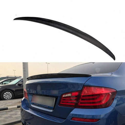 021 - BMW 5 Series F10 Carbon Fibre Boot Spoiler - 2010 - 2016 Models - Diversion Stores Car Parts And Modificaions