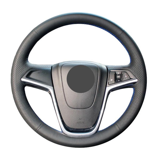 Leather Steering Wheel Re-con Kit For Vauxhall / Opel Astra (J) 2010-2015 / Ampera 2012 / Zafira / Mokka 2012-2019 / Insignia 2008-2013 - Diversion Stores Car Parts And Modificaions