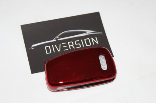 Audi Protective Key Cover - Chrome Red - Diversion Stores Car Parts And Modificaions