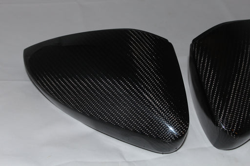 Genuine Carbon Fibre Replacement Mirror Covers For Skoda Octavia / SUPERB/ KODIAQ/ KAROQ/ KAMIQ - Diversion Stores Car Parts And Modificaions