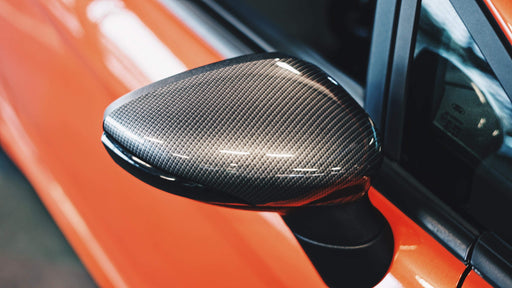 Ford Fiesta MK7/7.5 Carbon Fibre Look Gloss Wing Mirror Backs (2009-2017 Models)