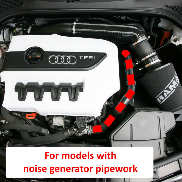 Performance RamAir Foam Air Filter & Heat Shield Induction Kit – Audi TTS TFSI