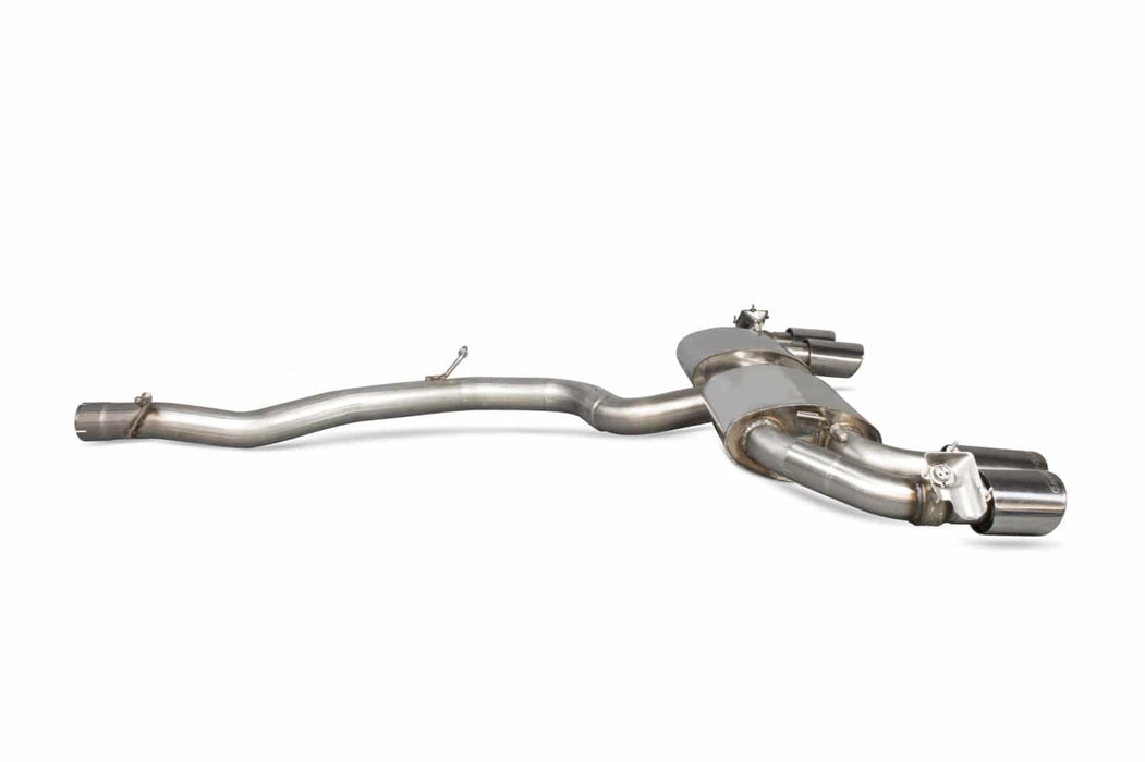 Scorpion Audi TT S MK3 (2014-16) Cat-Back Exhaust with Valves (Non-GPF Model Only)