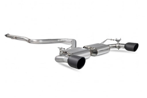 Scorpion Hyundai I30N Non-GPF Non-resonated Cat Back Exhaust - Indy Ceramic Tips - SHYS101I