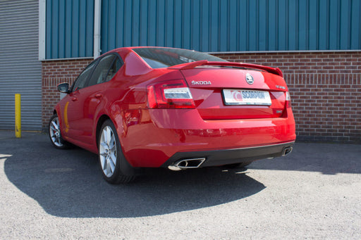 Scorpion Skoda Octavia VRS 2.0TSI 265 (13-15) Non-Resonated Cat-Back Exhaust- Twin Discrete Tips – SSKS003