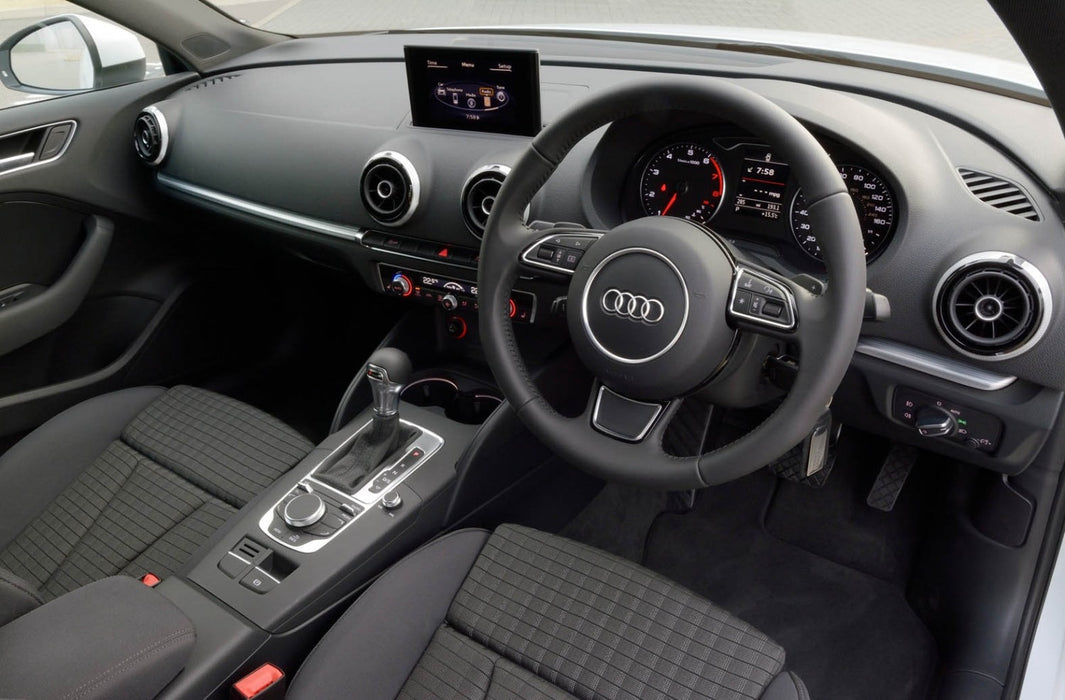 Audi A3 / S3 / RS3 Carbon Fibre Custom Steering Wheel (8P / 2006 - 2013 Models)