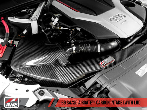 AWE Tuning AirGate Carbon Fibre Intake Kit - Audi S4 S5, RS4 and RS5 B9