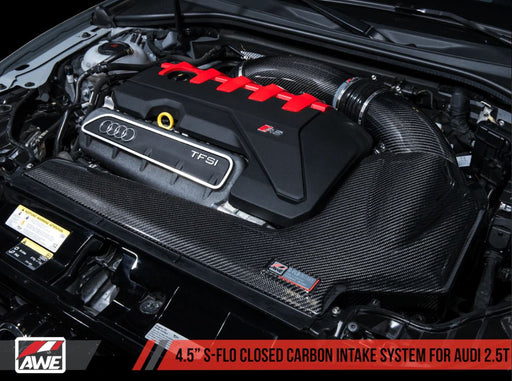 AWE Tuning S-FLO Closed Intake kit - Audi TT RS (8S) and RS3 (8V-FL)
