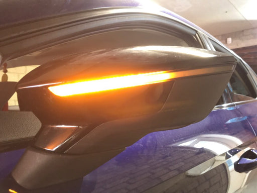 207 - Seat Leon Orange Dynamic Sweeping Mirror Indicators - Diversion Stores Car Parts And Modificaions