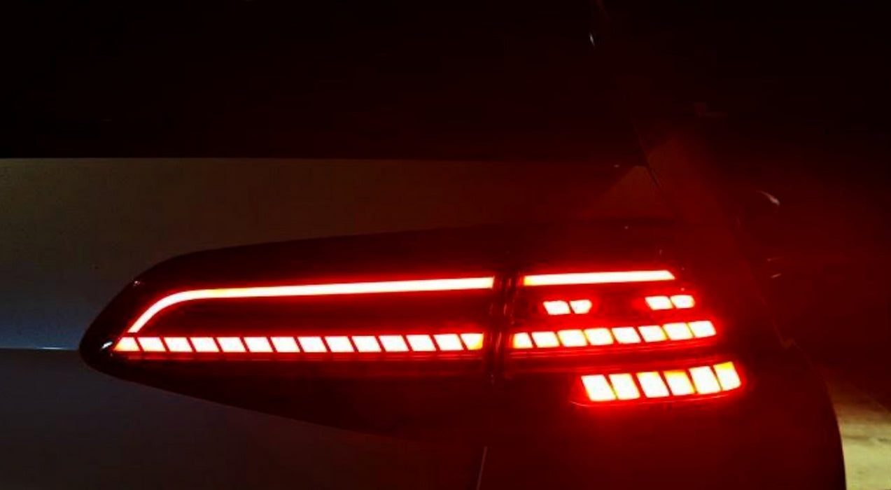 069 - Volkswagen Golf Tail Lights With Sequential Indicators - Plug & Play - (MK7.5 2016-2019) - Diversion Stores Car Parts And Modificaions