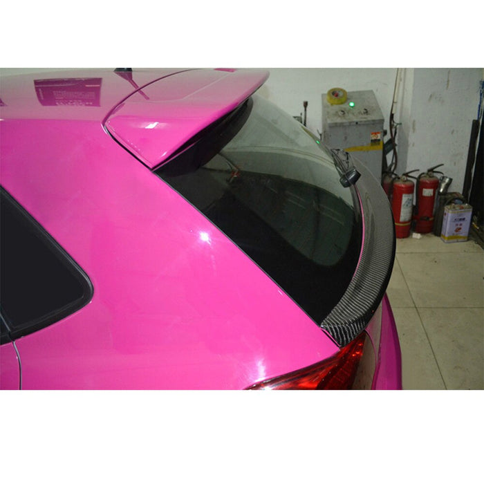 Volkswagen Polo MK5 6R / 6C Carbon Fibre Central Boot Spoiler (2009 - 2017 Models)
