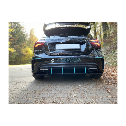 Race Design - Mercedes Benz A Class A45 AMG Diffuser (W176 FACELIFT 2015-2018)