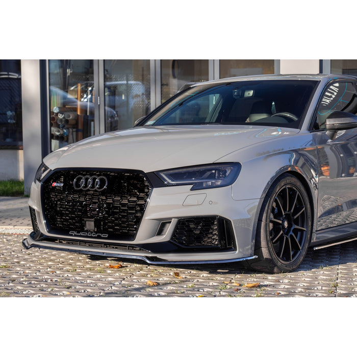 Race Design - Audi RS3 8V Front Splitter (VERSION 2 - 2017+)