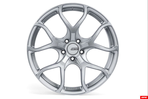APR Flow Formed Alloy Wheel 19x8.5 5x112 - Hyper SilverAPR Flow Formed Alloy Wheel 19x8.5 5x112 - Hyper Silver