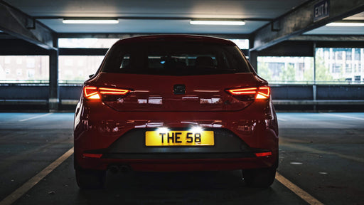 SEAT Leon MK3 LED Number Plate Lights (Error Code Free)