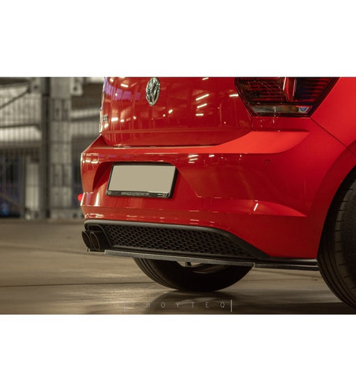 Volkswagen Polo AW GTI / R LINE Rear Diffuser (2018 - UP) - Diversion Stores Car Parts And Modificaions