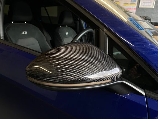 Volkswagen VW Golf MK7 / MK7.5 Genuine Carbon Fibre Wing Mirror Covers (2013 - 2020)