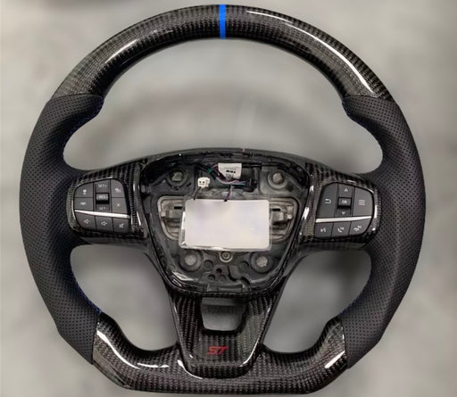 Ford Focus MK4 ST / RS Carbon Fibre Steering Wheel (Custom 2019 - Present)