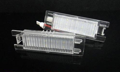 Vauxhall / Opel Corsa D LED Number Plate Lights (Error Code Free / 2006 - 2014)
