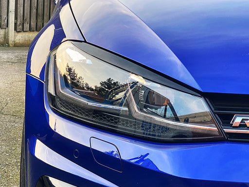 Volkswagen Golf MK7/7.5 Headlight Eyebrows (2013 - 2019 Models)