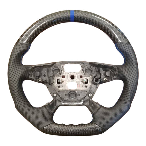 Ford Focus MK3 Base / ST / RS LED Display Carbon Fibre Steering Wheel (Custom 2011 - 2014)