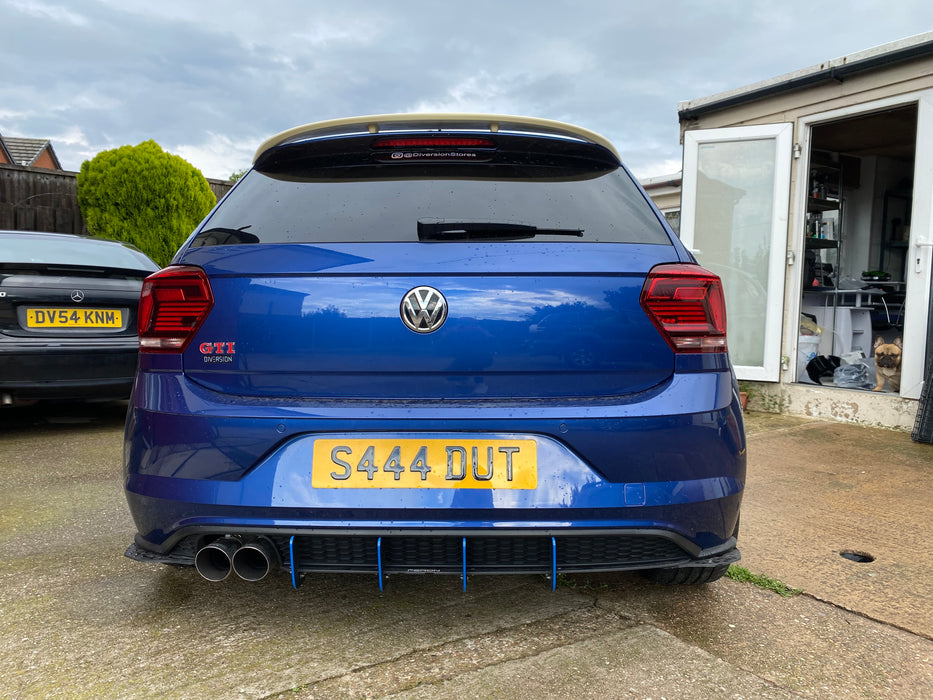 Volkswagen Polo MK6 Rear Boot Spoiler