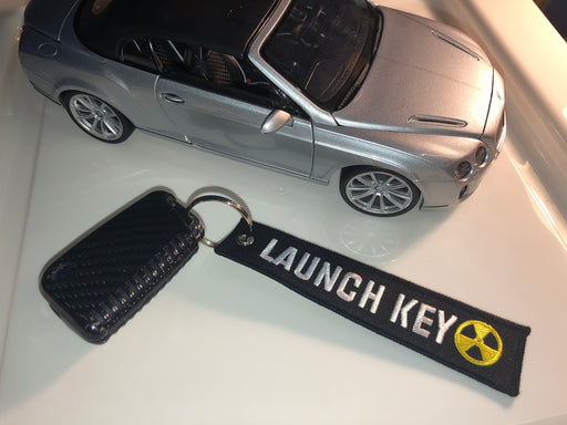 *LAUNCH KEY* Fabric Keyring Accessory - Diversion Stores Car Parts And Modificaions
