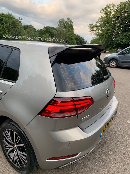 036 - Volkswagen Golf MK7/7.5 Raised Roof Spoiler Base Model (2013-2019) - Diversion Stores Car Parts And Modificaions