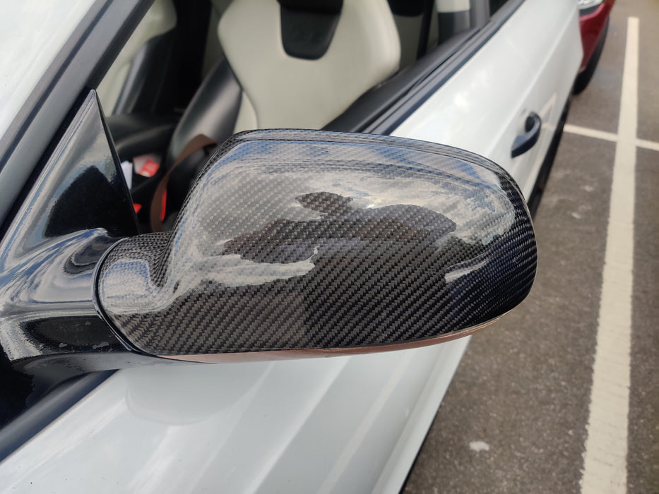 177 - Audi A4 B8.5 / A5 / S5 Carbon Fibre Wing Mirror Replacement Covers (2010-2016) - Diversion Stores Car Parts And Modificaions