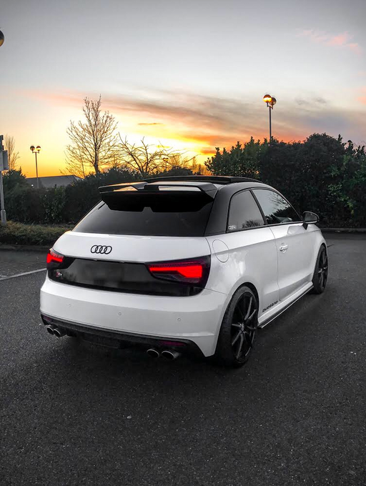 Audi A1 Carbon Fibre/FRP Rear Spoiler (2010-2017 Models) 3-Door