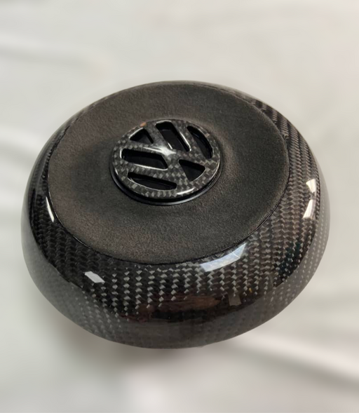 Volkswagen Carbon Fibre Steering Wheel Airbag Centre Piece