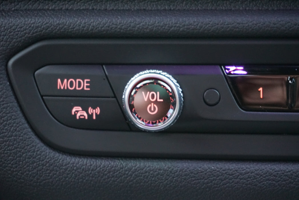 BMW Crystal Replacement Volume Control Button (G20 G05 X5 G06 X6 G07 X7 Z4 G29) (Crystal / Black)