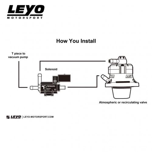 LEYO Motorsport – Diverter Valve (DV) – L035B - Diversion Stores Car Parts And Modificaions