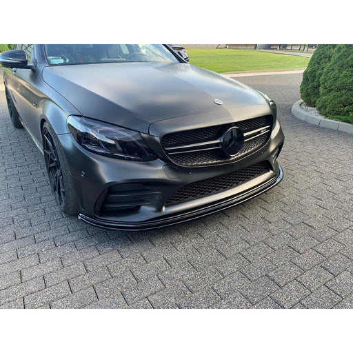 Race Design - Mercedes Benz C43 AMG Front Splitter Version 2 (W205 FACELIFT 2019 -)