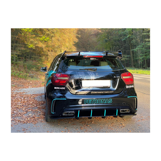 RACE DESIGN - MERCEDES A45 AMG REAR SPATS (W176 FACELIFT 2015-2018)