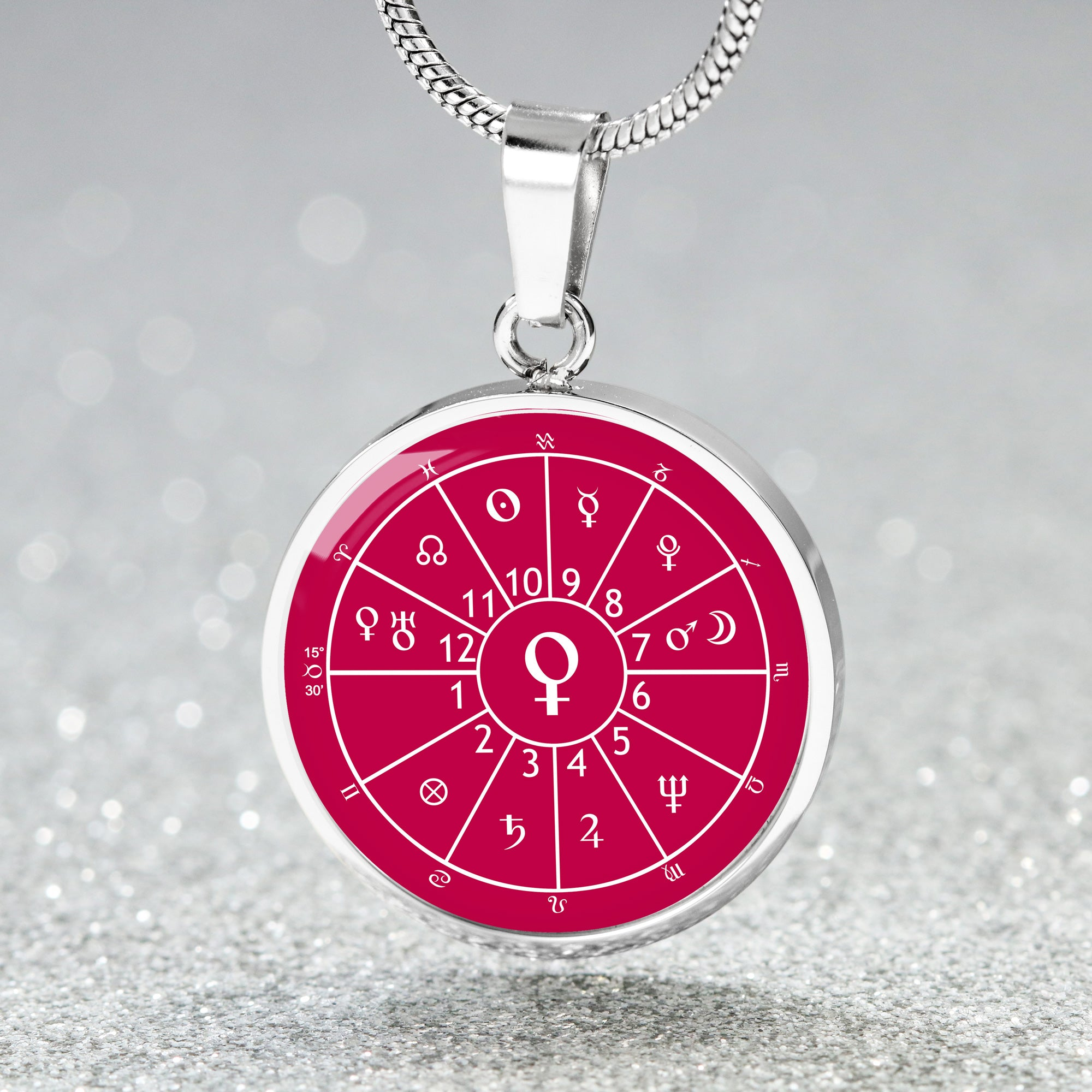 Bespoke Astrology Chart Necklace