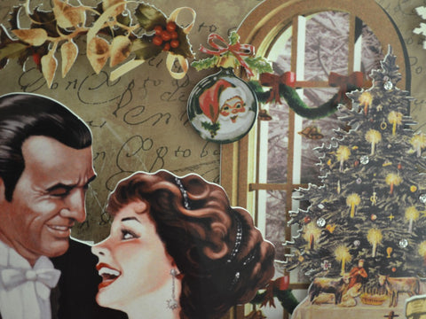 Vintage Christmas Wallpaper from www.fanpop.com