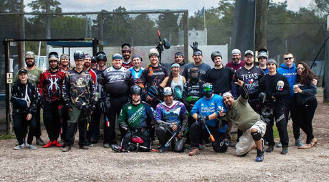 Houston paintball club
