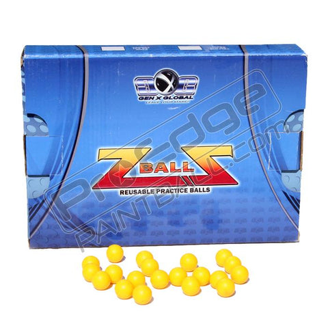 Reuseable Rubber Paintballs