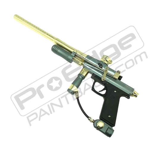 AZODIN KPC+ PUMP PAINTBALL GUN - TITANIUM/GOLD