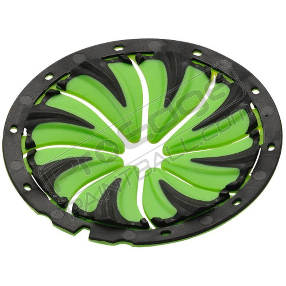DYE ROTOR QUICK FEED LID 6.0 - LIME/BLACK