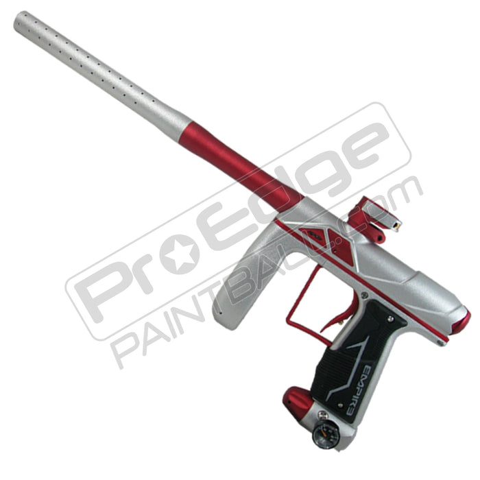 EMPIRE AXE PRO PAINTBALL GUN - SILVER - RED