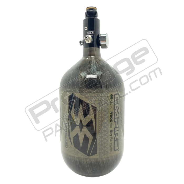EMPIRE MEGA LITE 68/4500 COMPRESSED AIR PAINTBALL TANK - SMOKE